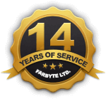 Farbyte UK 13 years of service